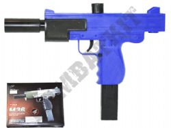 M36 Airsoft BB Gun 2 Tone Black and Blue